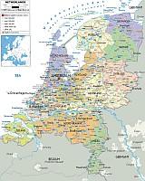 Hollandia autó térkép